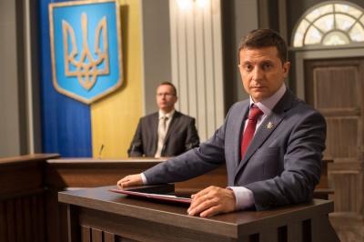 Зеленський завершив зйомки «Слуги народу»