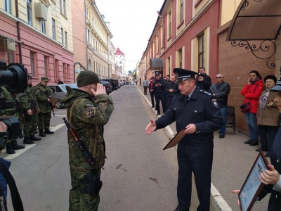 До Чернівців із зони ООС повернулися патрульні - фото