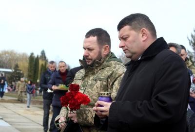 У Чернівцях до Дня добровольця вшанували загиблих учасників АТО – фото
