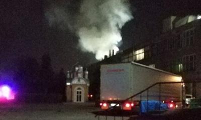 Масштабна пожежа: у Чернівцях горить меблева фабрика – фото