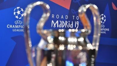 Оприлюднили результати жеребкування 1/4 фіналу Ліги чемпіонів УЄФА