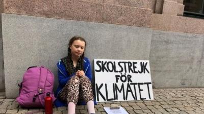 16-річна шведська екологічна активістка номінована на Нобелівську премію миру