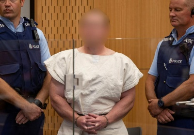 Прем'єр Нової Зеландії отримала лист від терориста за кілька хвилин до атаки