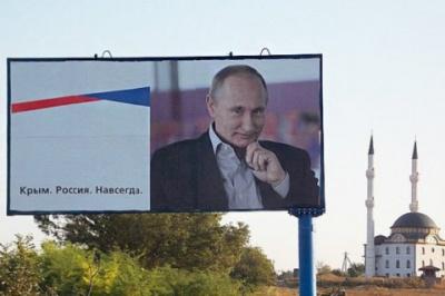 Путін зібрався в Крим святкувати річницю окупації