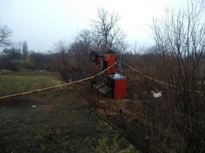 У Чернівцях поблизу Калинки перекинувся трактор: водію стало зле