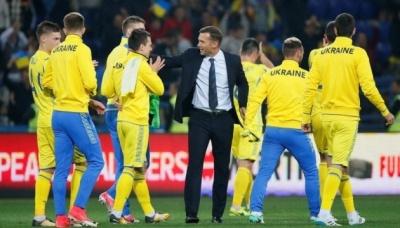 Букмекери не вірять у перемогу української збірної у Португалії