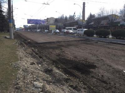 У вихідні в Чернівцях відкриють для руху другу частину проспекту Незалежності