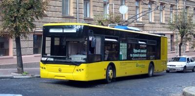 У Чернівцях через ремонт проспекту змінять маршрут тролейбуса №1