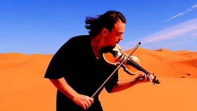 «Один день в Парижі»: відомий скрипаль привезе до Чернівців ексклюзивну програму