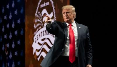 Трамп заявив, що США визнають суверенітет Ізраїлю над Голанськими висотами