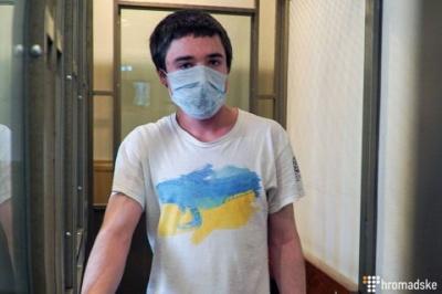 Українця Павла Гриба, якого викрали в Білорусі, засудили в РФ до 6 років колонії
