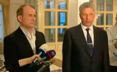 Бойко заявив, що збирається відновлювати відносини з Росією