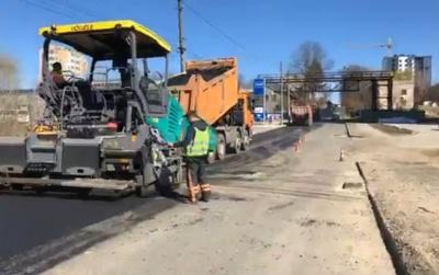 У Чернівцях продовжили ремонт вулиці Сторожинецької: рух частково обмежено
