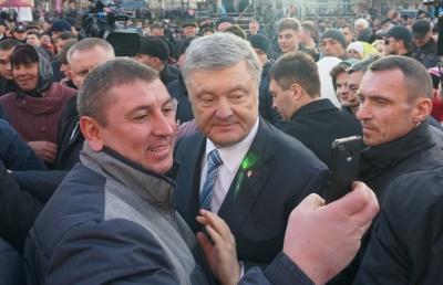 У Чернівцях Порошенко заговорив румунською мовою – відео