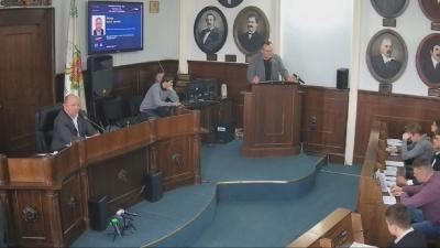 Продан вимкнув мікрофон Каспруку під час його виступу на сесії