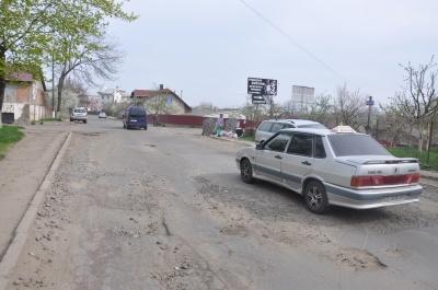 У Чернівцях на ремонт розбитої вулиці Кармелюка грошей не передбачили