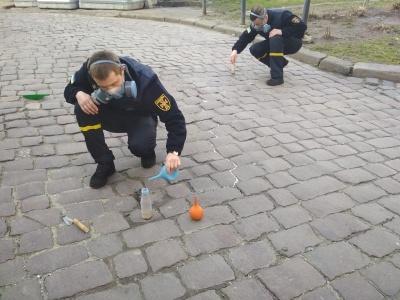 У центрі Львова розлили близько кілограма ртуті