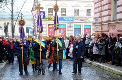 Сьогодні вулицями Чернівців пройде Хресна дорога