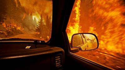 У Чернівцях ревнивий чоловік підпалив автівку колишній коханій