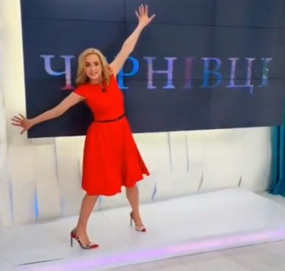 Лілія Ребрик присвятила танець Чернівцям – відео