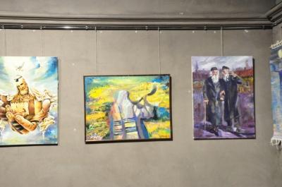 """У Чернівцях відкрили художню виставку """"Сучасне мистецтво Ізраїлю та України"""""""