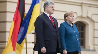 У Німеччині анонсували зустріч Меркель та Порошенка