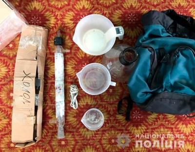 На Буковині поліція викрила нарколабораторію – фото