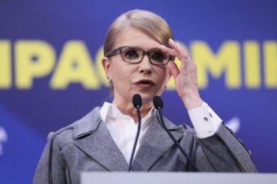 Тимошенко відмовилася від пропозиції Зеленського вести дебати