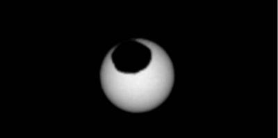 NASA оприлюднила фотографію сонячного затемнення на Марсі