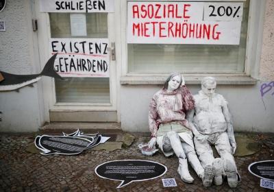 У Берліні проходять протести через дорогу оренду житла