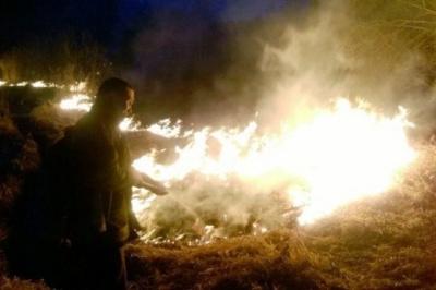 На Житомирщині літнє подружжя загинуло через спалювання трави