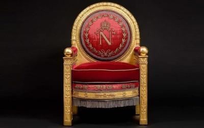 Трон Наполеона продали за 500 тисяч євро