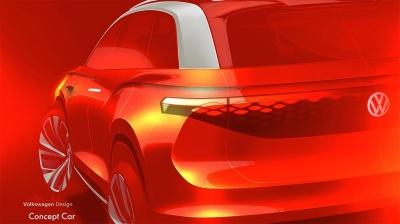 Volkswagen випустить електричний кросовер з автопілотом і кермом, що прибирається