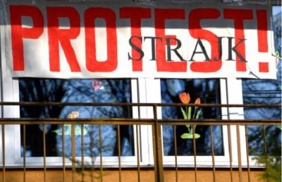 У Польщі через страйк не працюють 74% шкіл