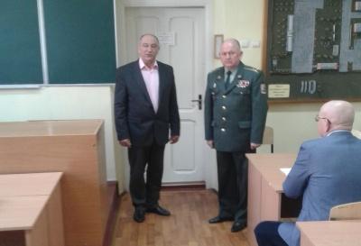 У Чернівцях призначили нового керівника військової кафедри ЧНУ