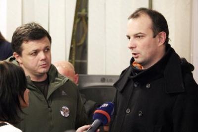"""Нардепи Соболєв та Семенченко вийшли з партії """"Самопоміч"""""""