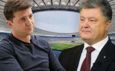 """Зеленський відмовився від дебатів на НСК """"Олімпійський"""" 14 квітня"""