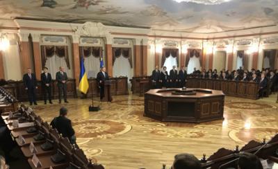 Судді Вищого антикорупційного суду склали присягу