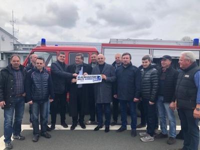 Недобоївська ОТГ отримала пожежний автомобіль з Німеччини