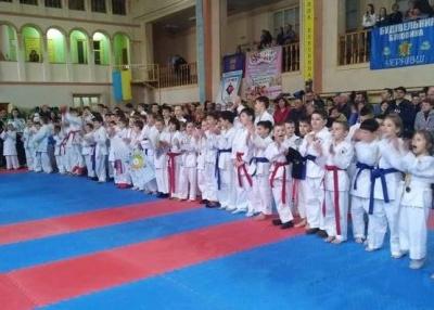 У Чернівцях відбувся масштабний турнір з карате