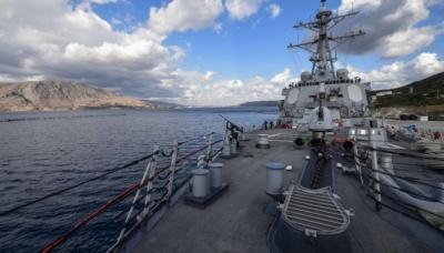 У Чорному морі російські кораблі взяли на супровід есмінець ВМС США