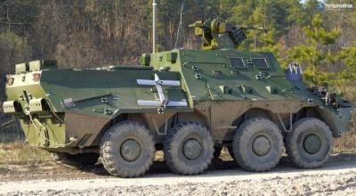 """Укроборонпром"" показав нову командно-штабну машину оснащену дронами"