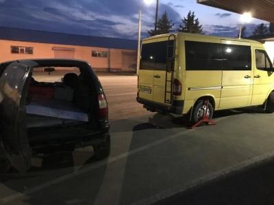 На Буковині прикордонники затримали автомобіль, який викрали в Іспанії