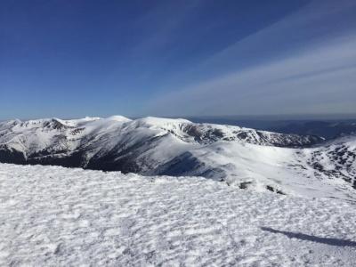 Карпати вкриті снігом: температура опустилась до -10