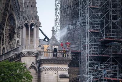 На відновлення собору Нотр-Дам за день зібрали понад 600 мільйонів євро