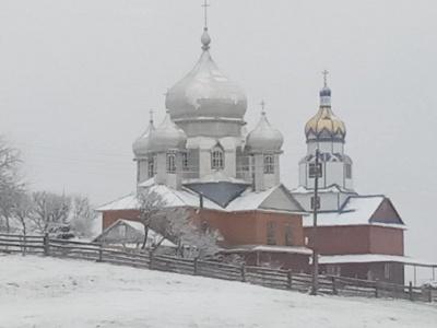 Буковинские Карпаты засыпало снегом - фото