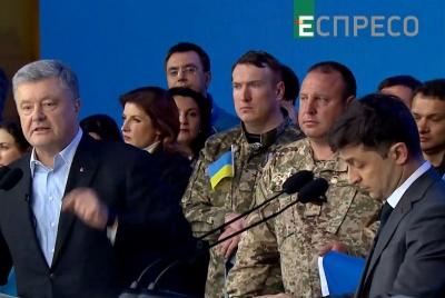 Дебати: про що говорили Порошенко і Зеленський