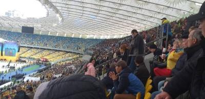 Стадион так стадион. Как прошли дебаты на «Олимпийском» - репортаж МБ