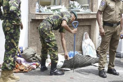 На Шрі-Ланці кількість загиблих внаслідок терактів збільшилася до 207 осіб