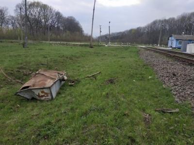 У Чернівецькій області поїзд зіткнувся з трактором